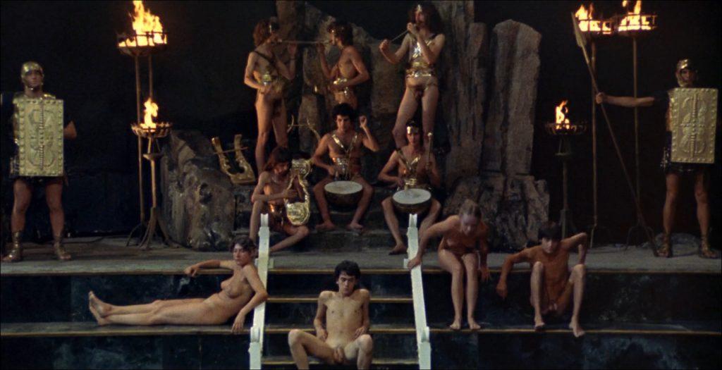 image Roman orgy scene with dp