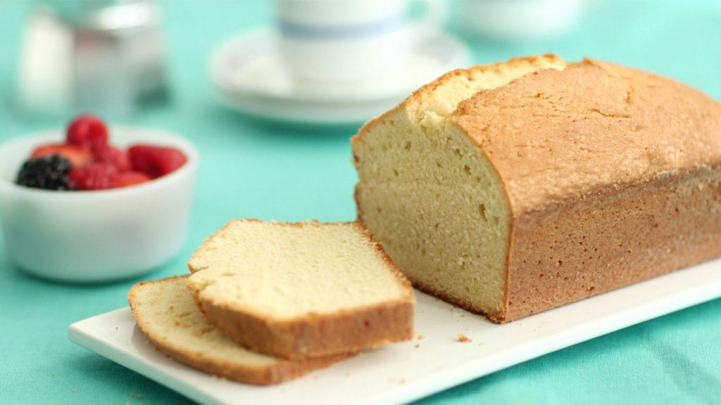 Vanilla pound cake