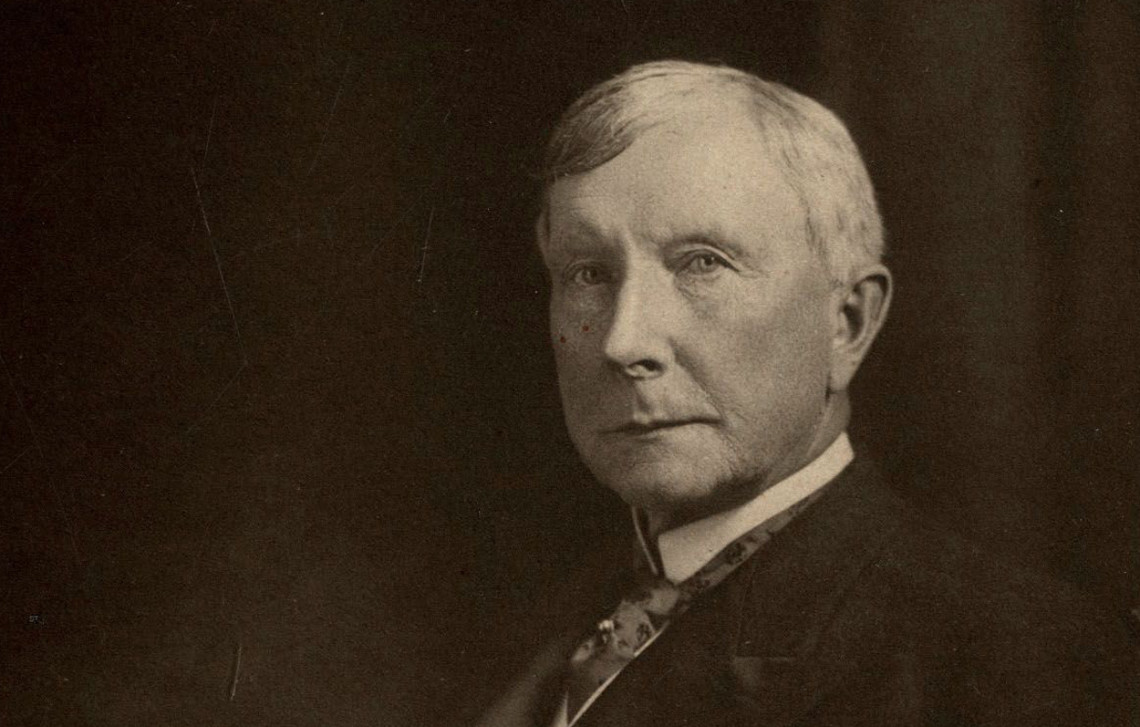 john r rockefeller Our history board of to establish the research center he had been discussing for three years with his adviser frederick t gates and his son john d rockefeller.