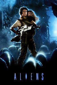 "Poster for the movie ""Aliens"""