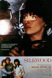 "Poster for the movie ""Silkwood"""