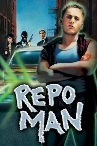 "Poster for the movie ""Repo Man"""