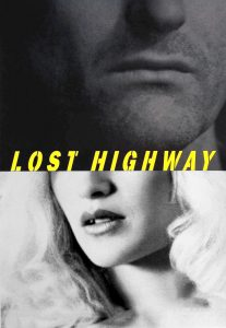 "Poster for the movie ""Lost Highway"""