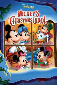 "Poster for the movie ""Mickey's Christmas Carol"""