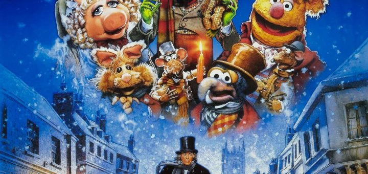 """Poster for the movie """"The Muppet Christmas Carol"""""""