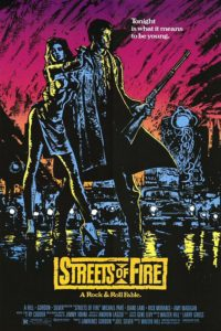 "Poster for the movie ""Streets of Fire"""