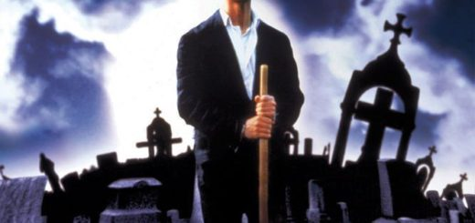 "Poster for the movie ""Cemetery Man"""