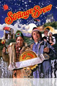 "Poster for the movie ""Strange Brew"""