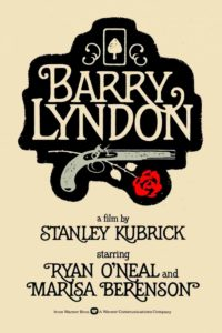 "Poster for the movie ""Barry Lyndon"""