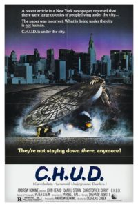 "Poster for the movie ""C.H.U.D."""