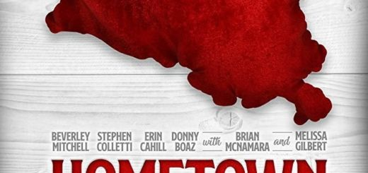 """Poster for the movie """"Hometown Christmas"""""""