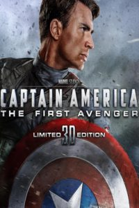 "Poster for the movie ""Captain America: The First Avenger - Heightened Technology"""