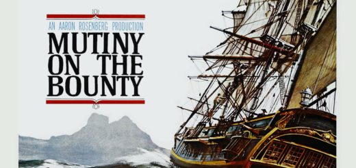 """Poster for the movie """"Mutiny on the Bounty"""""""
