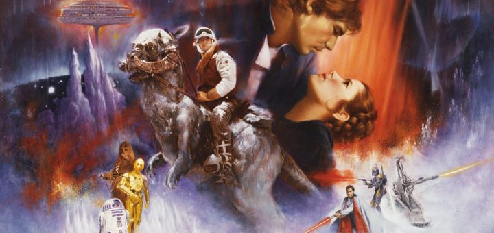 """Poster for the movie """"The Empire Strikes Back"""""""