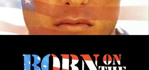 "Poster for the movie ""Born on the Fourth of July"""