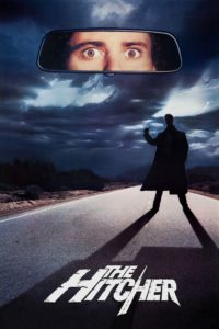 "Poster for the movie ""The Hitcher"""
