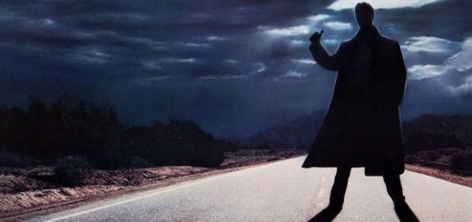 """Poster for the movie """"The Hitcher"""""""