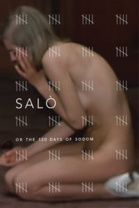 "Poster for the movie ""Salò, or the 120 Days of Sodom"""