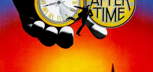 """Poster for the movie """"Time After Time"""""""