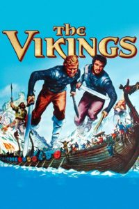 "Poster for the movie ""The Vikings"""