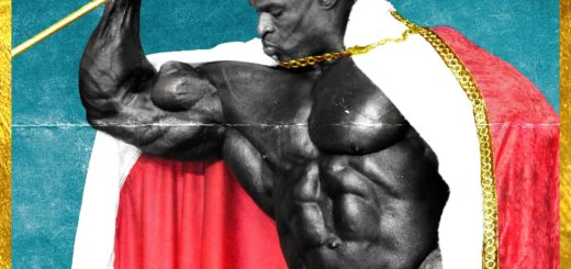 "Poster for the movie ""Ronnie Coleman: The King"""