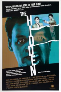 "Poster for the movie ""The Hidden"""