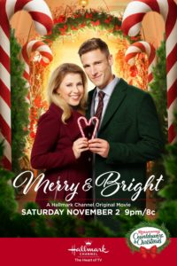 "Poster for the movie ""Merry & Bright"""