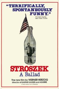 "Poster for the movie ""Stroszek"""