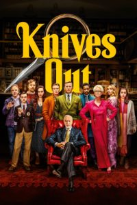 "Poster for the movie ""Knives Out"""