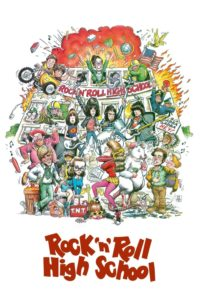 "Poster for the movie ""Rock 'n' Roll High School"""