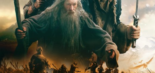 "Poster for the movie ""The Hobbit: The Battle of the Five Armies"""