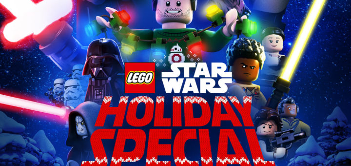 """Poster for the movie """"The Lego Star Wars Holiday Special"""""""