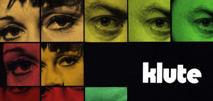 "Poster for the movie ""Klute"""
