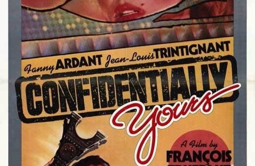 "Poster for the movie ""Confidentially Yours"""