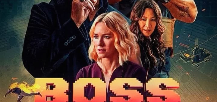"Poster for the movie ""Boss Level"""